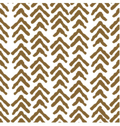 herringbone rough gold color seamless vector image