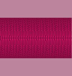 horizontal seamless wavy vector image