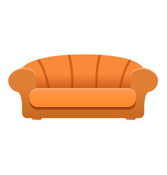 luxury sofa icon cartoon style vector image