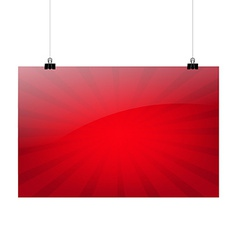 Red Sale Banner vector image