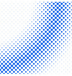 Retro abstract halftone dot pattern background vector