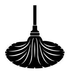 Sweeping icon simple style vector