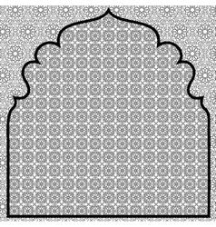 Arabian background vector