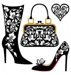 fashion illustration vector image vector image