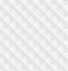 Diagonal white tile geometric background vector image