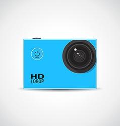 Sport camera vector image