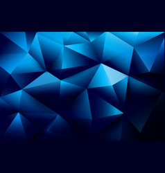 abstract background basic geometry and polygon vector image