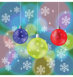 Abstract chistmas background vector
