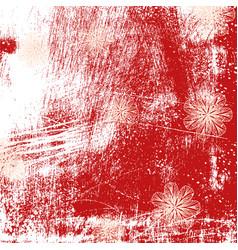 brushed grunge background vector image