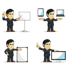 Businessman or Company Executive Customizable 12 vector