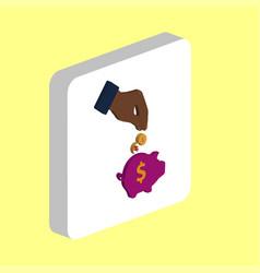 Investing computer symbol vector