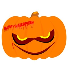Nasty pumpkin vector