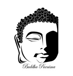 of vesak day or buddha purnima vector image