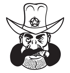Sheriff cowboy2 resize vector
