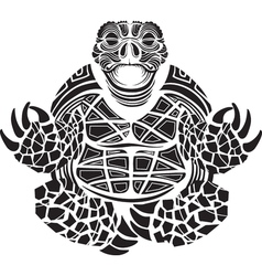Turtle in the Lotus position vector