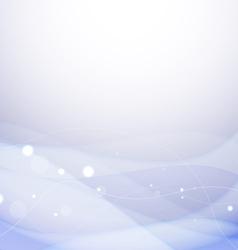 Sparkling Blue Background vector image vector image