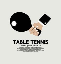 Table Tennis Indoor Sport vector image vector image