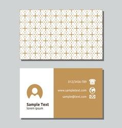 Businessman card9 resize vector image