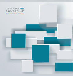 Abstract geometric shape from gray and blue vector