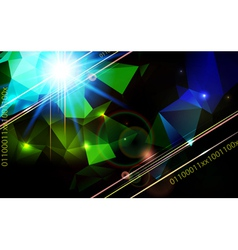 Abstract lens flare technology background vector