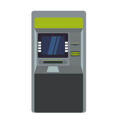 atm bank machine vector image