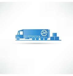 delivery goods icon vector image