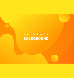 fluid gradient elements for minimal banner logo vector image