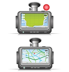 GPS vector image vector image