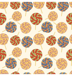 Seamless pattern with Lollipops vector