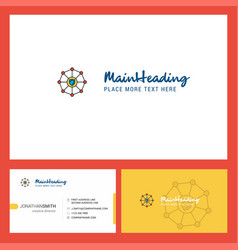 Sheild protected logo design with tagline front vector