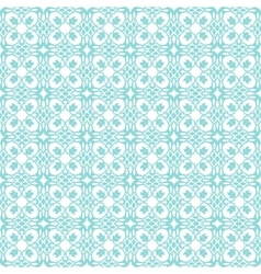 Turquoise-abctract-pattern vector image