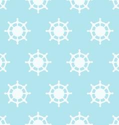 Steering wheels in texture pattern vector image vector image