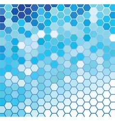 Blue and White vector image