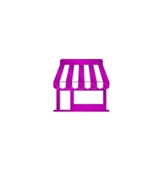 Store icon concept for design vector image
