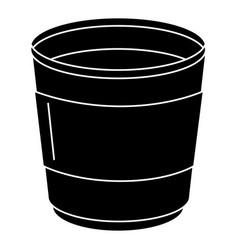 Coffee mug isolated icon vector