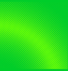 green abstract halftone dotted background pattern vector image