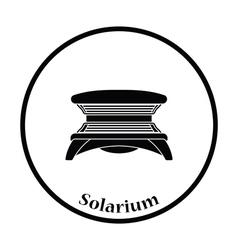 Icon of Solarium vector image