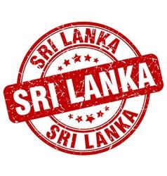 Sri Lanka stamp vector