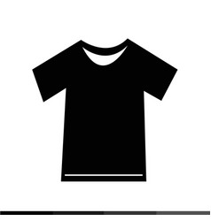 tshirt icon design vector image