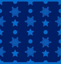 christmas semless pattern vector image