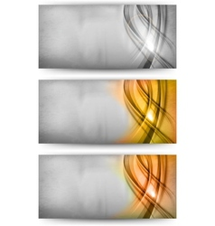 abstract card silver gold bronze vector image vector image