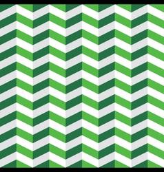 Green Chevron Seamless Pattern vector image