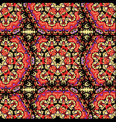 arabesque seamless pattern seamless pattern vector image