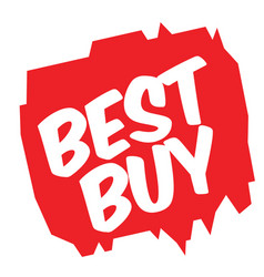 Best buy sticker vector