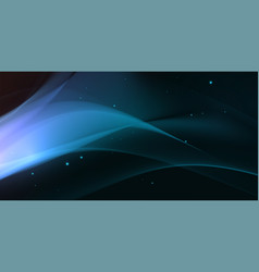 Blue glowing wave vector