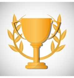 Champion design winner icon colorful vector