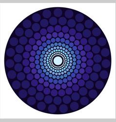 Circle emblem vector