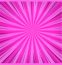 Colorful comic bright pink background vector