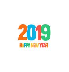 decoration of children celebration new year fun vector image