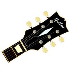 Guitar Headstock vector